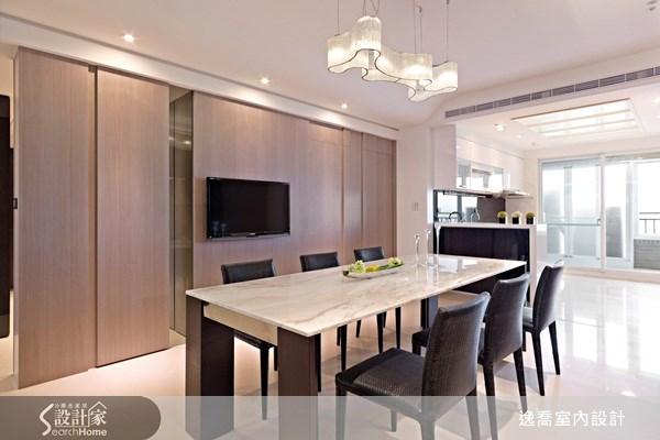 50坪新成屋(5年以下)_現代風餐廳案例圖片_逸喬室內設計_逸喬_04之3
