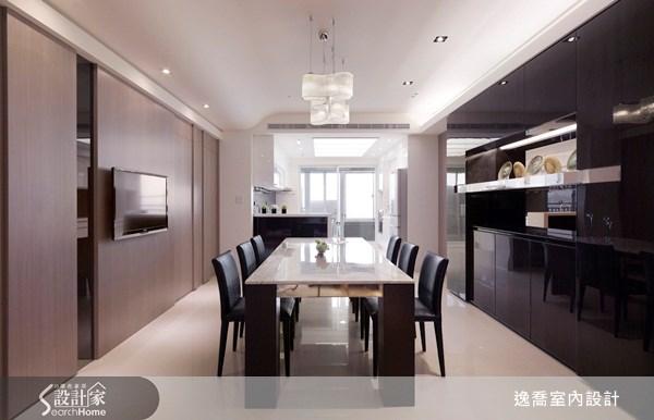 50坪新成屋(5年以下)_現代風餐廳案例圖片_逸喬室內設計_逸喬_04之5