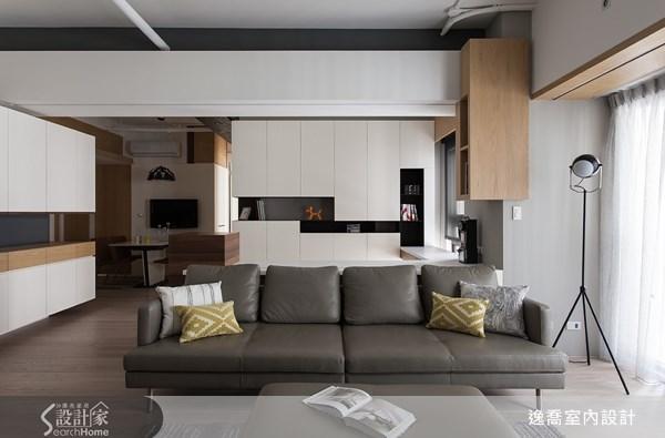 36坪新成屋(5年以下)_工業風案例圖片_逸喬室內設計_逸喬_個性美學 The simple loft之3