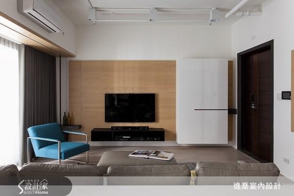 36坪新成屋(5年以下)_工業風客廳案例圖片_逸喬室內設計_逸喬_個性美學 The simple loft之4