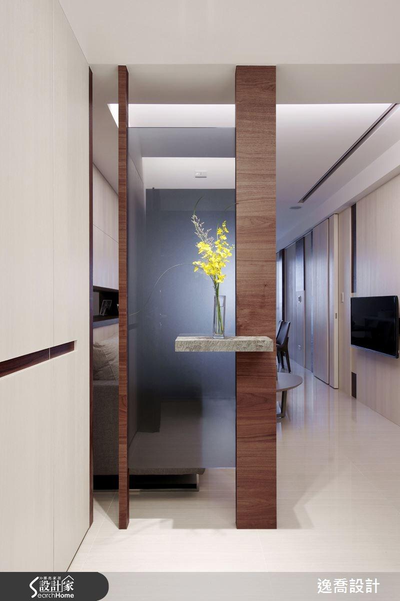 22坪新成屋(5年以下)_現代風玄關案例圖片_逸喬室內設計_逸喬_15之2
