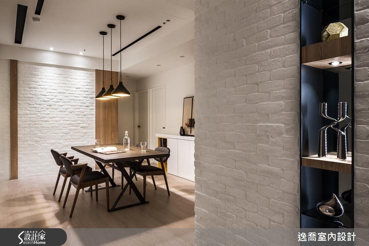 43坪新成屋(5年以下)_北歐風餐廳案例圖片_逸喬室內設計_逸喬_光感生活 Sparkling之11