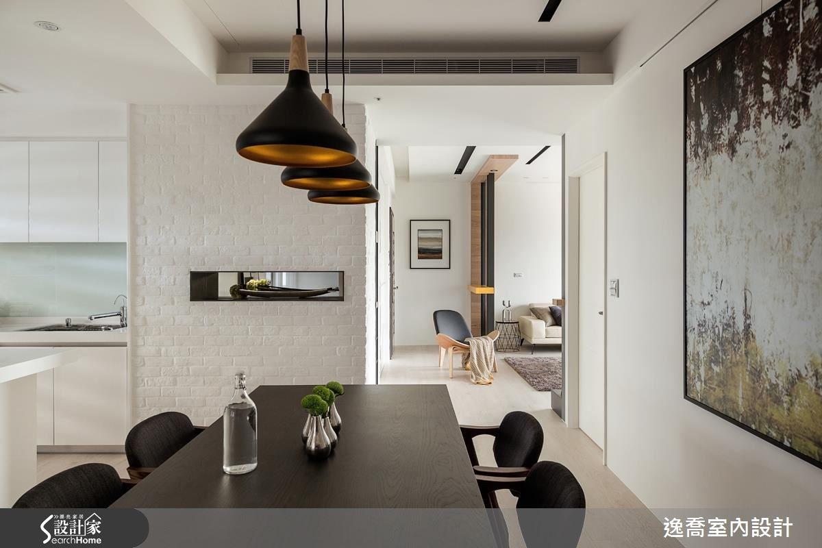 43坪新成屋(5年以下)_北歐風臥室案例圖片_逸喬室內設計_逸喬_光感生活 Sparkling之14