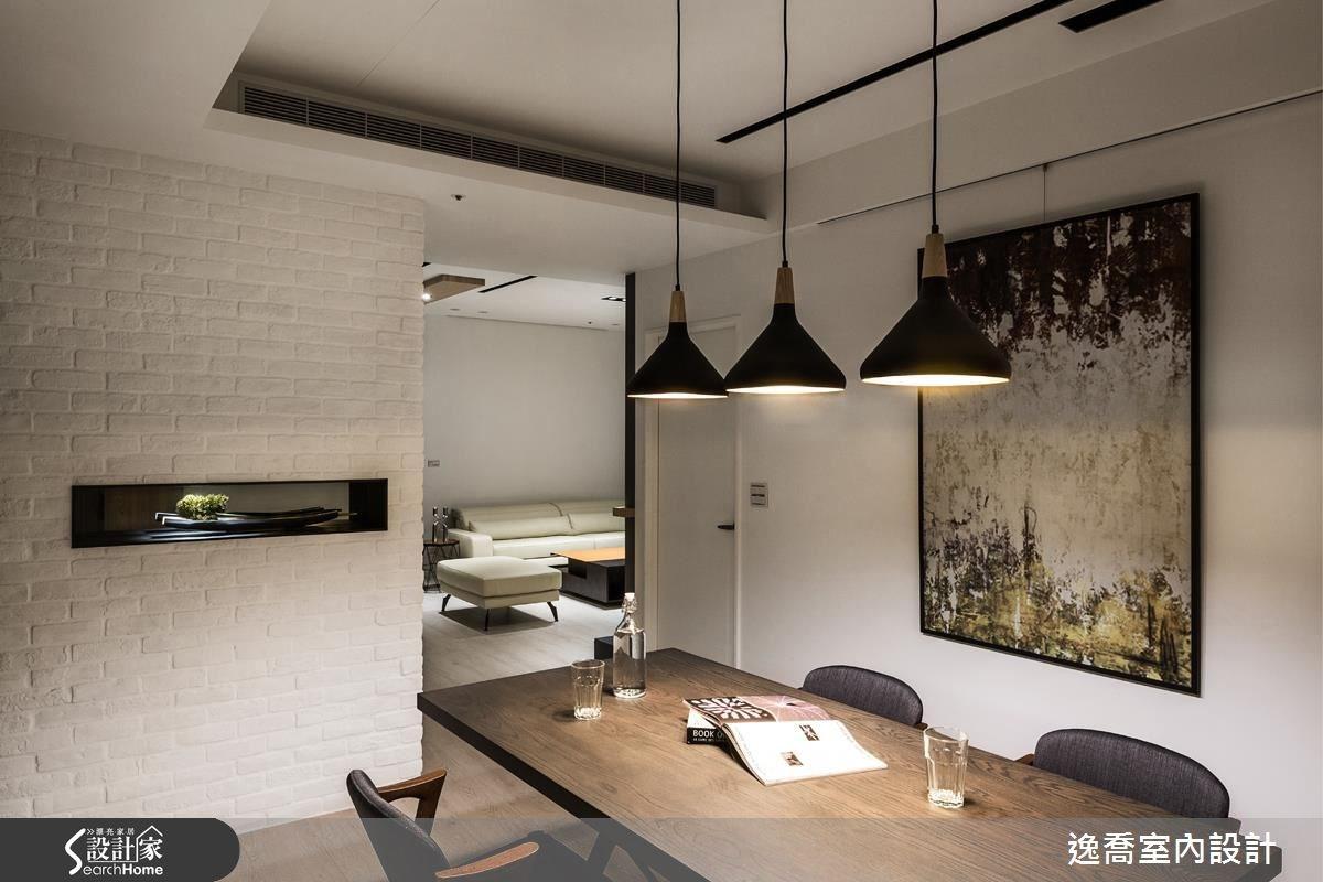 43坪新成屋(5年以下)_北歐風餐廳案例圖片_逸喬室內設計_逸喬_光感生活 Sparkling之15