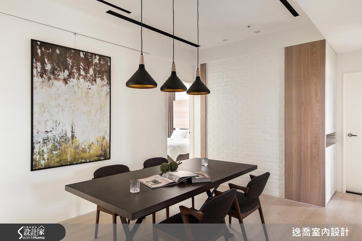 43坪新成屋(5年以下)_北歐風餐廳案例圖片_逸喬室內設計_逸喬_光感生活 Sparkling之16