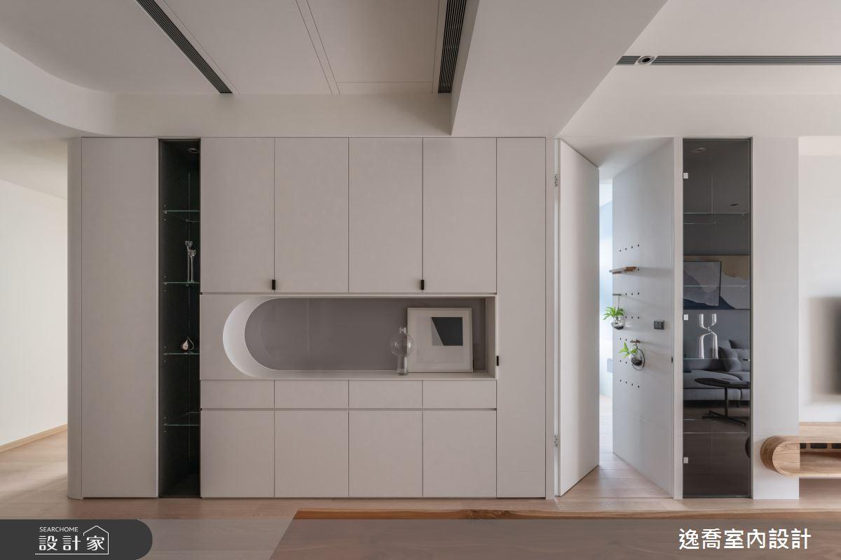34坪新成屋(5年以下)_現代風玄關案例圖片_逸喬室內設計_逸喬_25之2