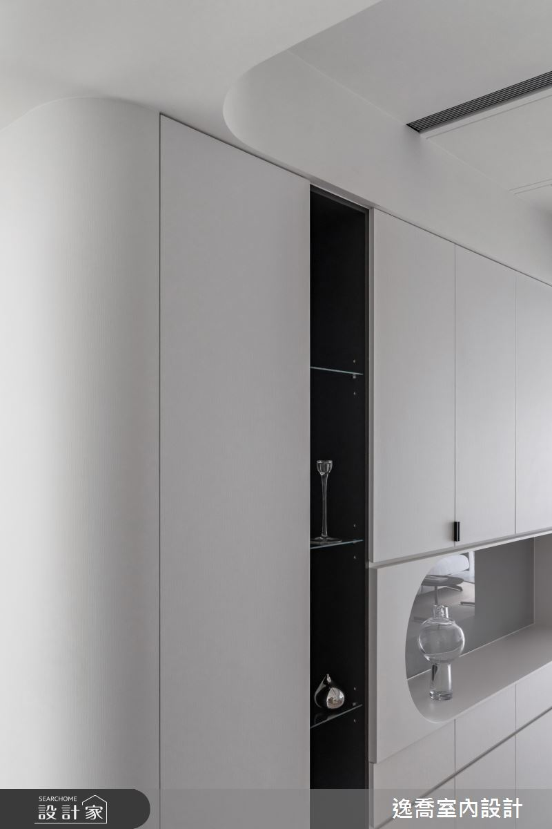 34坪新成屋(5年以下)_現代風玄關案例圖片_逸喬室內設計_逸喬_25之6