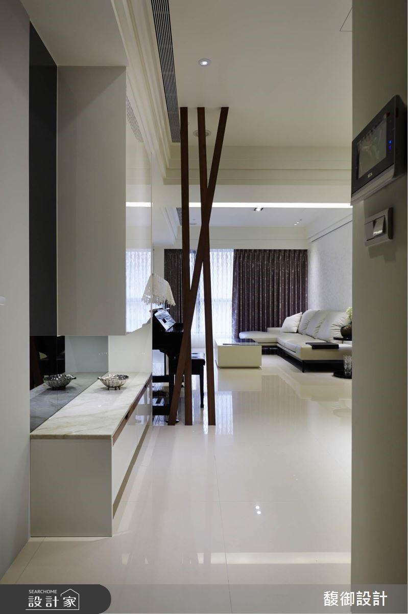 45坪新成屋(5年以下)_現代風客廳案例圖片_馥御室內裝修設計有限公司_馥御_01之3