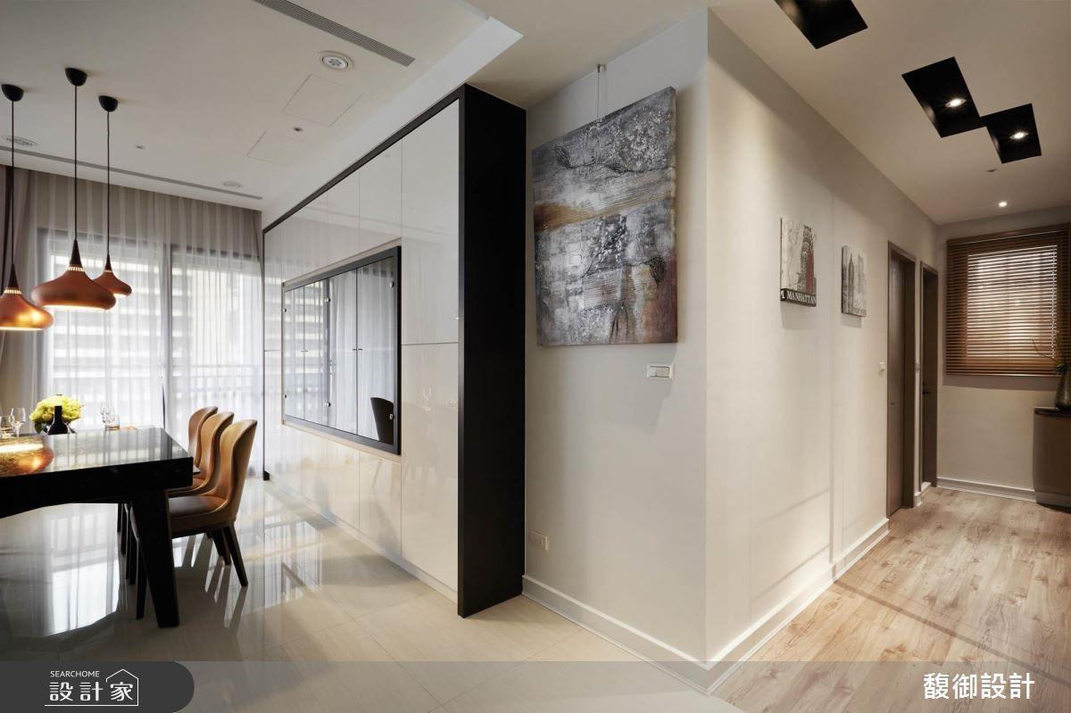 35坪新成屋(5年以下)_現代風餐廳走廊案例圖片_馥御室內裝修設計有限公司_馥御_03之6