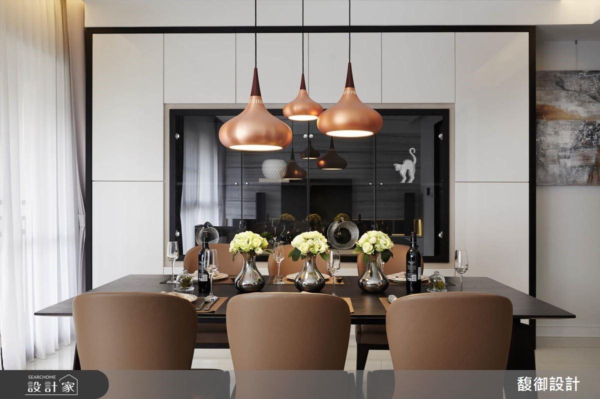 35坪新成屋(5年以下)_現代風餐廳案例圖片_馥御室內裝修設計有限公司_馥御_03之5