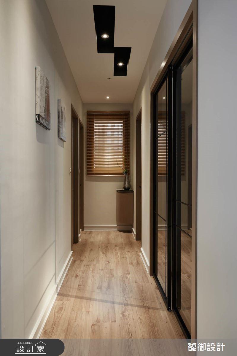 35坪新成屋(5年以下)_現代風走廊案例圖片_馥御室內裝修設計有限公司_馥御_03之7