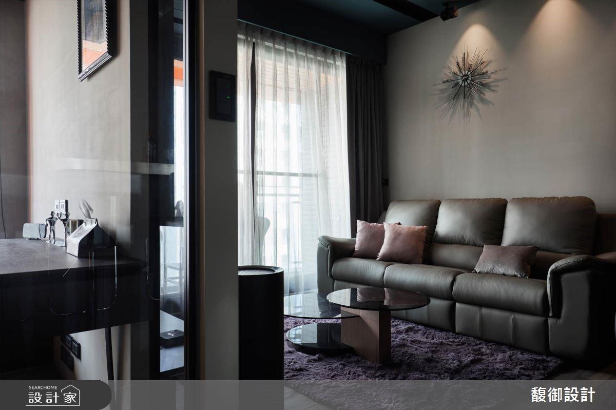 24坪新成屋(5年以下)_現代風客廳案例圖片_馥御室內裝修設計有限公司_馥御_05之3