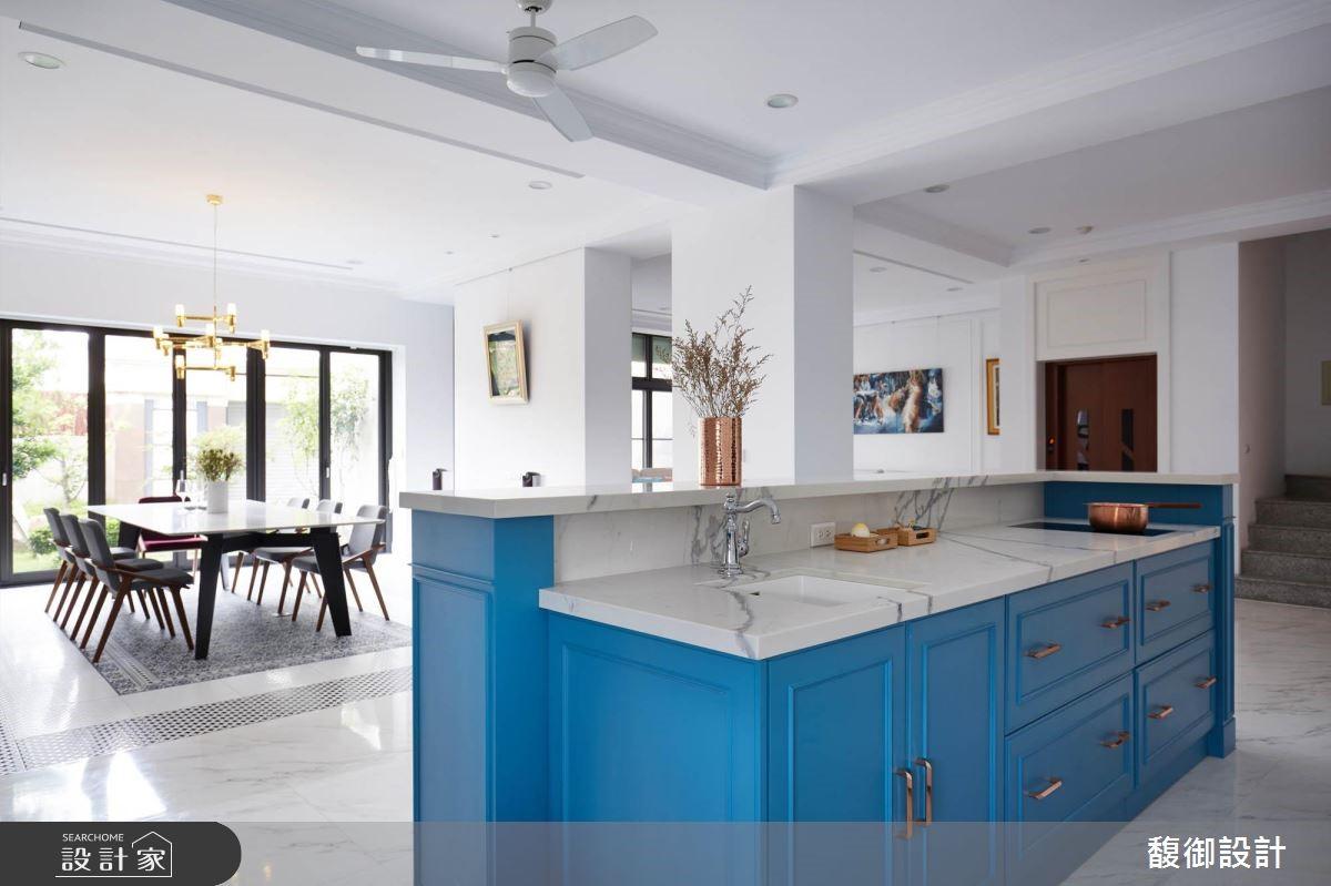 135坪新成屋(5年以下)_美式風廚房案例圖片_馥御室內裝修設計有限公司_馥御_07之4