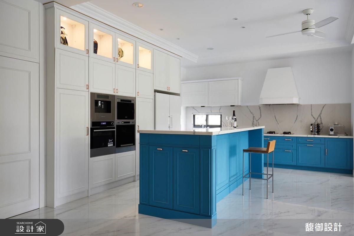 135坪新成屋(5年以下)_美式風廚房案例圖片_馥御室內裝修設計有限公司_馥御_07之5