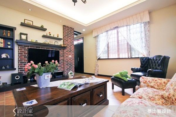 120坪新成屋(5年以下)_鄉村風案例圖片_墨比雅設計_墨比雅_76之3