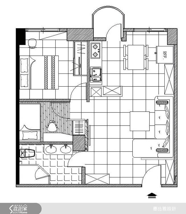 13坪中古屋(5~15年)_現代風案例圖片_墨比雅設計_墨比雅_78之26