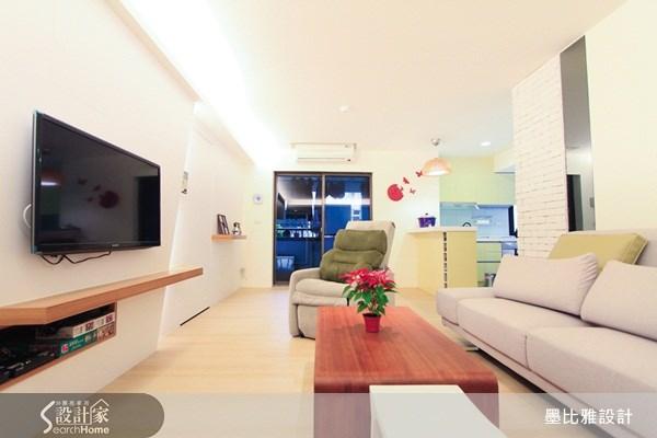 30坪中古屋(5~15年)_休閒風案例圖片_墨比雅設計_墨比雅_83之3