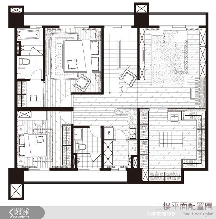 85坪新成屋(5年以下)_新古典案例圖片_大進空間設計_大進_05之44