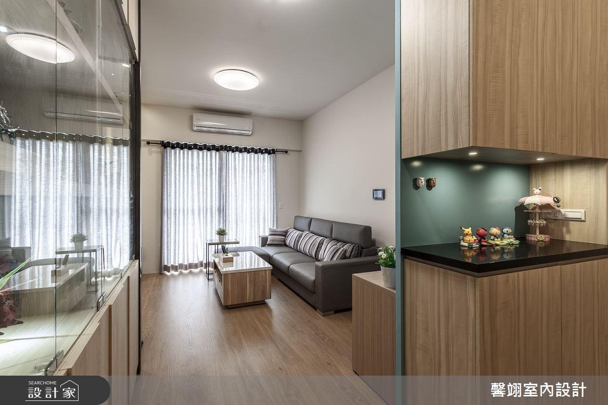 20坪新成屋(5年以下)_簡約風案例圖片_馨翊室內裝修設計_馨翊_09之2