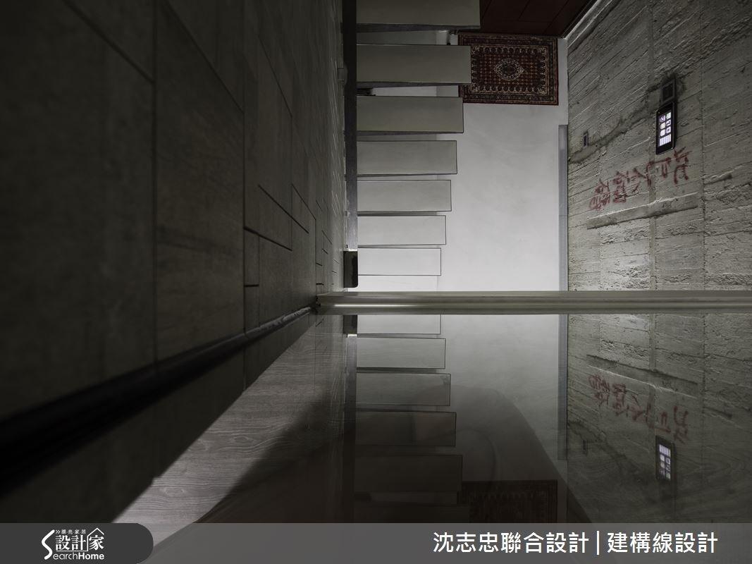 50坪預售屋_現代風走廊案例圖片_沈志忠聯合設計·建構線設計_沈志忠_16之1