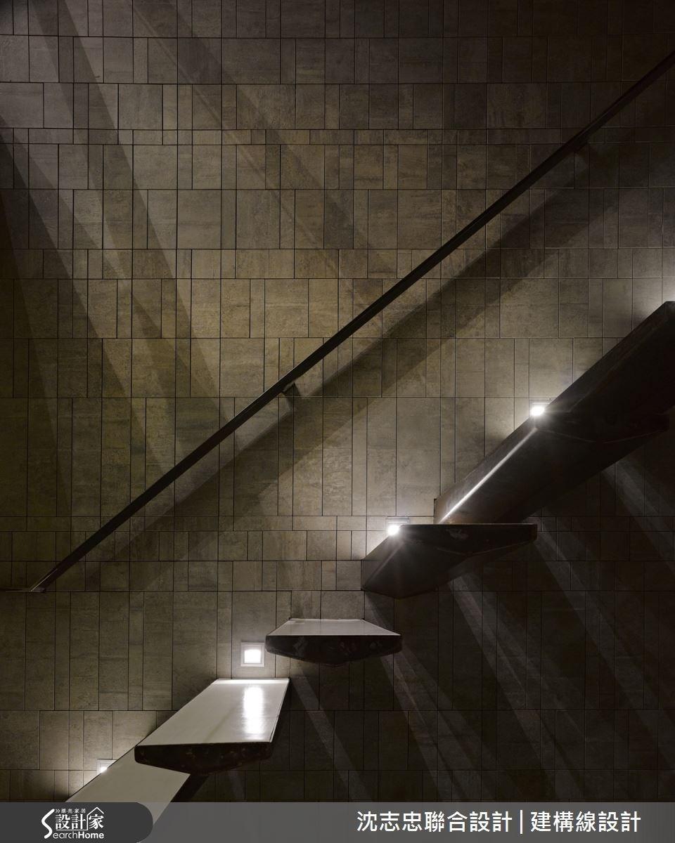 50坪預售屋_現代風樓梯案例圖片_沈志忠聯合設計·建構線設計_沈志忠_16之3