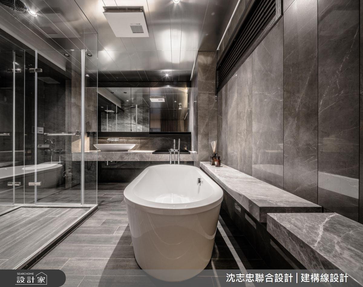 70坪新成屋(5年以下)_現代風浴室案例圖片_沈志忠聯合設計·建構線設計_沈志忠_22之7