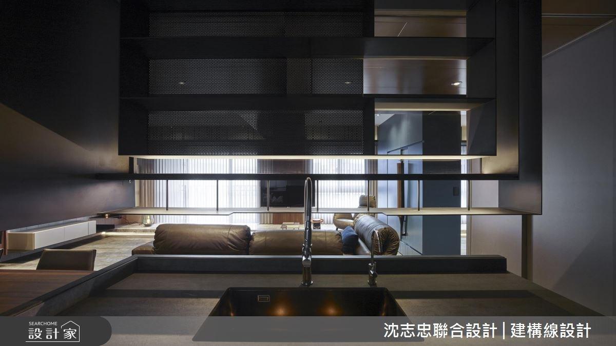 37坪新成屋(5年以下)_混搭風客廳餐廳案例圖片_沈志忠聯合設計·建構線設計_沈志忠_23之4