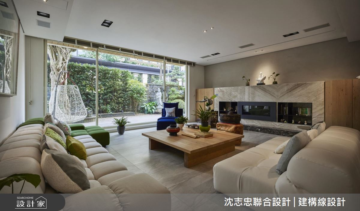 透天老屋轉身自然禪風 極致人文品味私人招待寓所