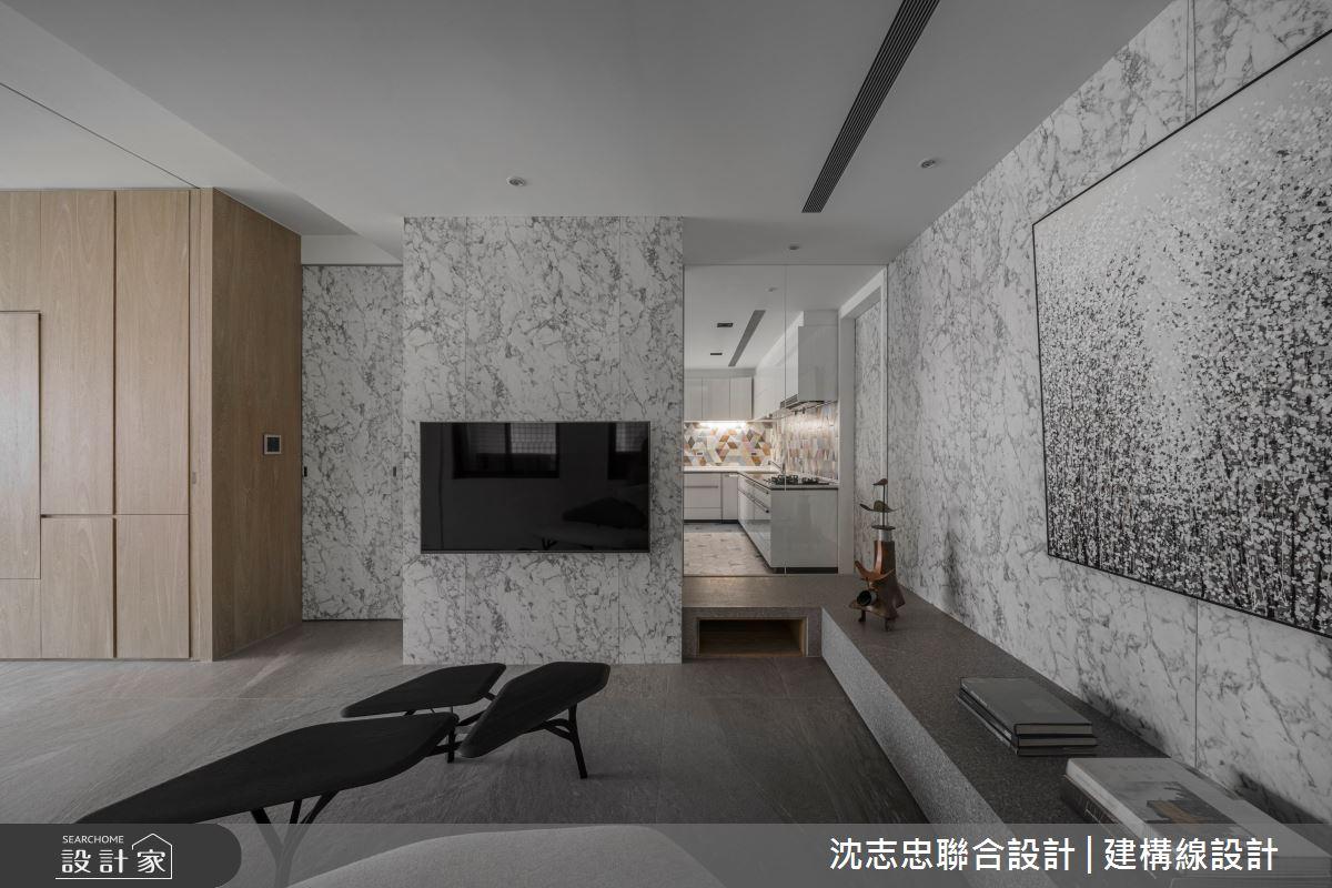80坪新成屋(5年以下)_現代風案例圖片_沈志忠聯合設計·建構線設計_沈志忠_32之4