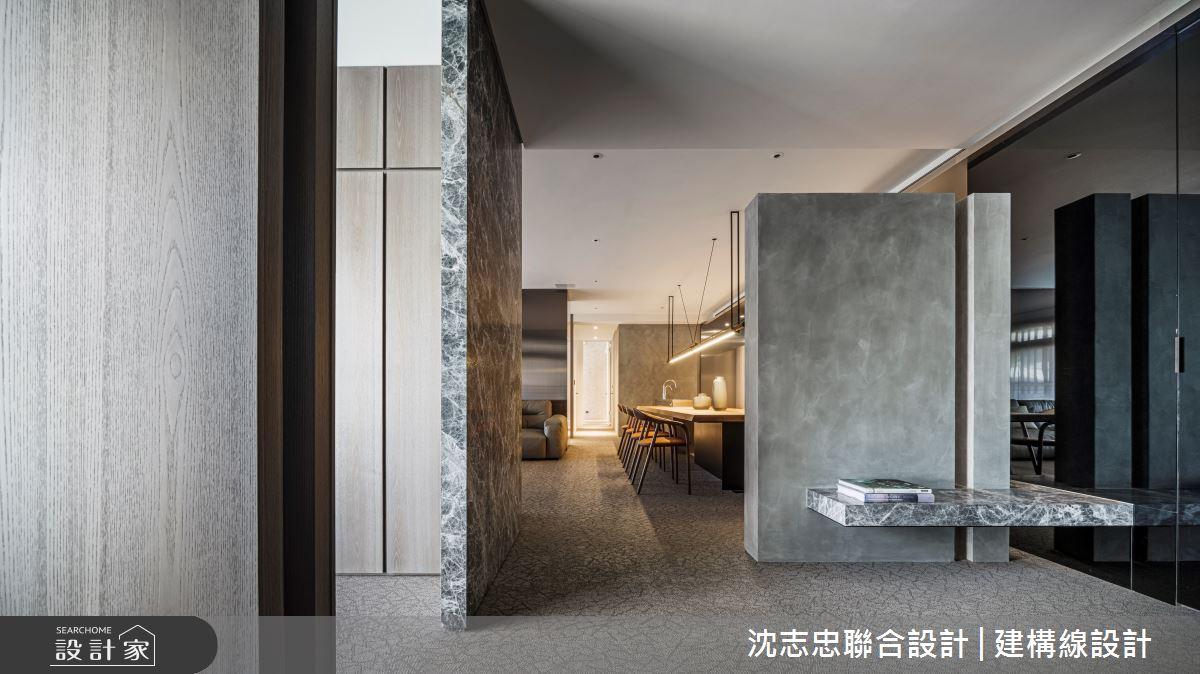 42坪新成屋(5年以下)_現代風案例圖片_沈志忠聯合設計·建構線設計_沈志忠_33之2