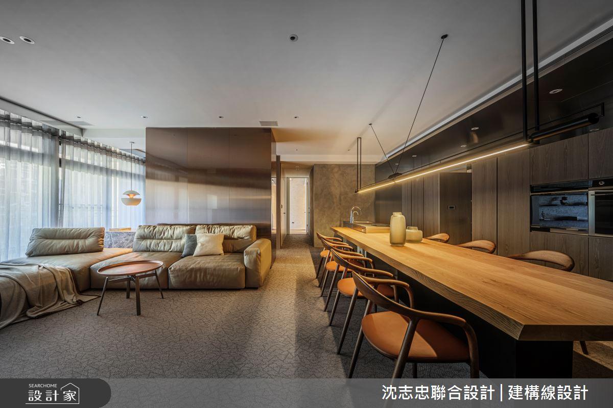 42坪新成屋(5年以下)_現代風案例圖片_沈志忠聯合設計·建構線設計_沈志忠_33之3