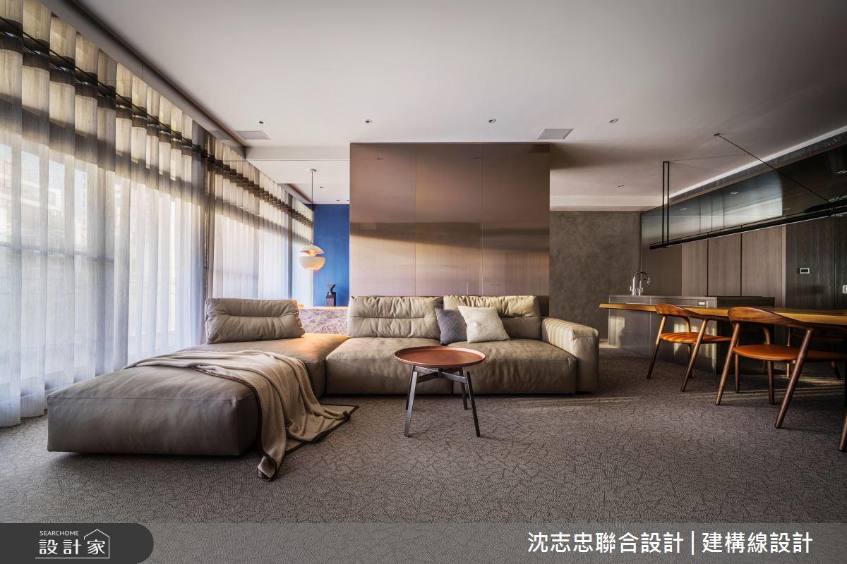 42坪新成屋(5年以下)_現代風案例圖片_沈志忠聯合設計·建構線設計_沈志忠_33之5