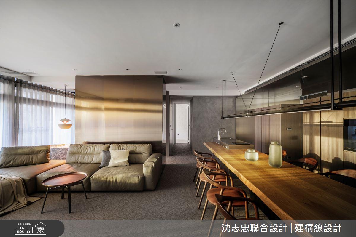 42坪新成屋(5年以下)_現代風案例圖片_沈志忠聯合設計·建構線設計_沈志忠_33之4