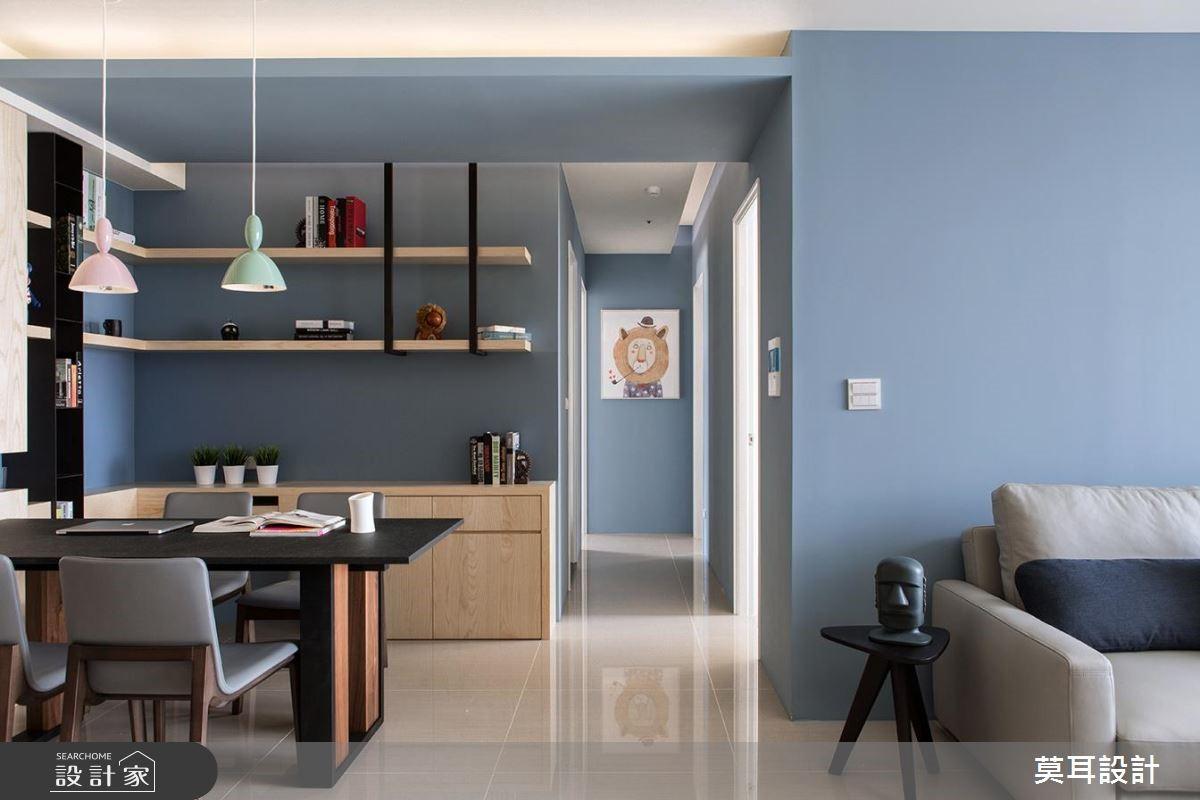 32坪新成屋(5年以下)_現代風餐廳案例圖片_莫耳設計_莫耳_01之8