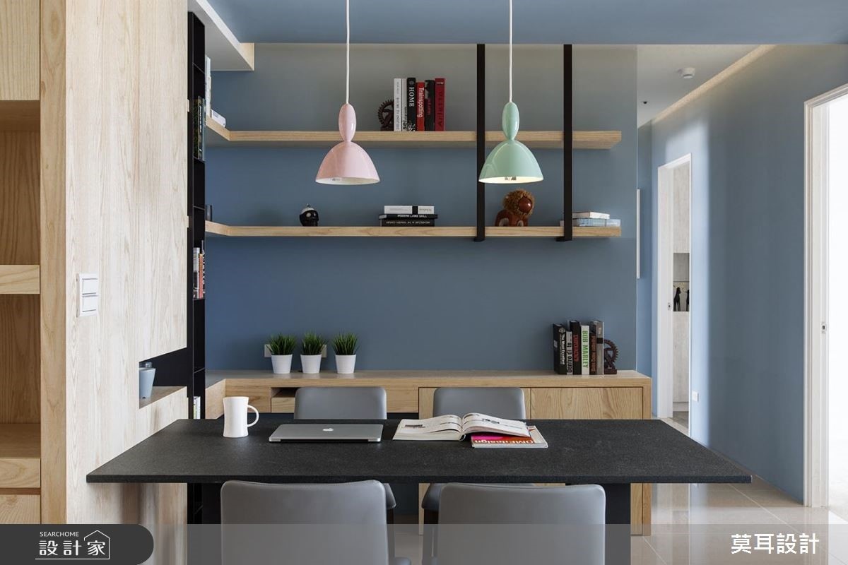 32坪新成屋(5年以下)_現代風餐廳案例圖片_莫耳設計_莫耳_01之7