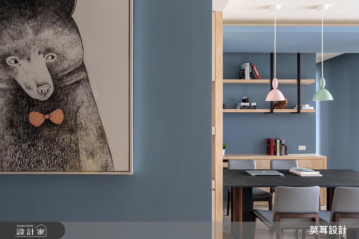32坪新成屋(5年以下)_現代風餐廳案例圖片_莫耳設計_莫耳_01之4