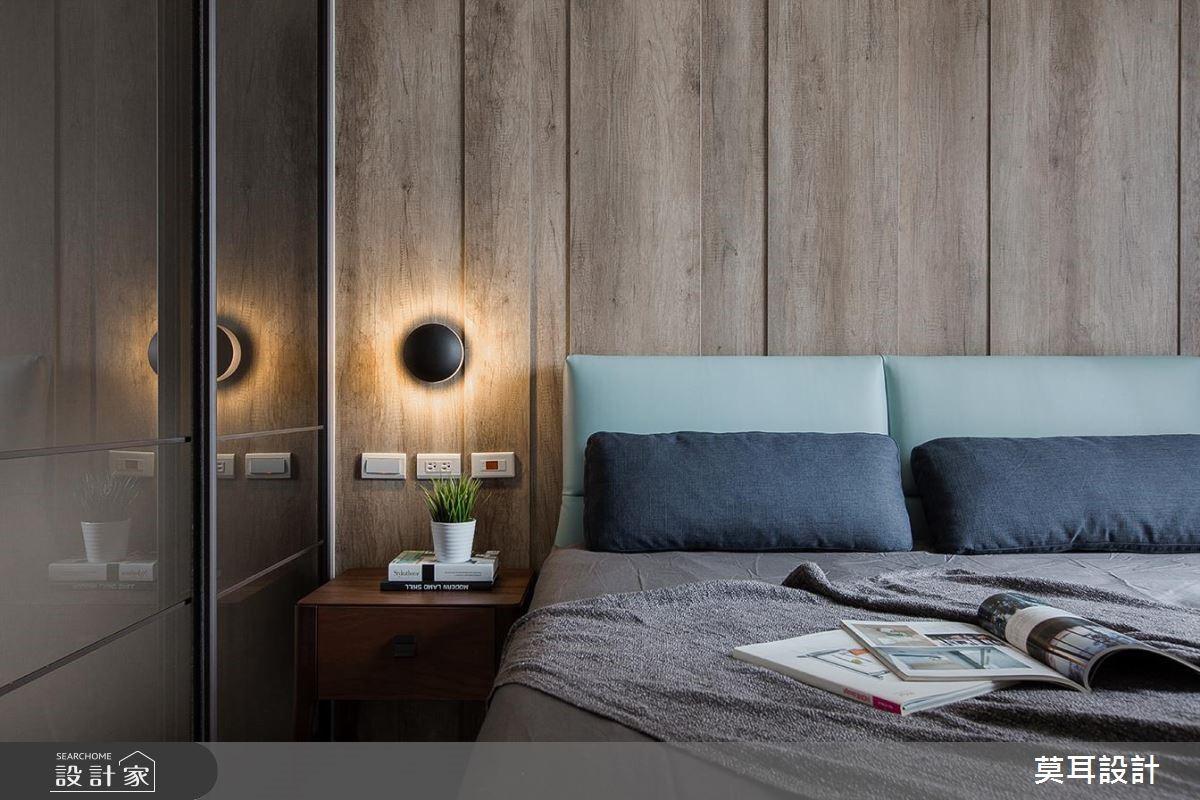 32坪新成屋(5年以下)_現代風臥室案例圖片_莫耳設計_莫耳_01之10