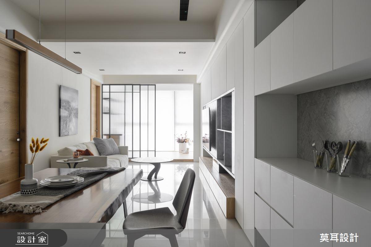 30坪新成屋(5年以下)_現代風餐廳案例圖片_莫耳設計_莫耳_04之1