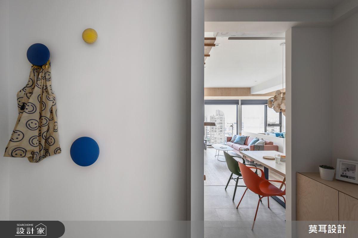 25坪新成屋(5年以下)_北歐風玄關餐廳案例圖片_莫耳設計_莫耳_07之2