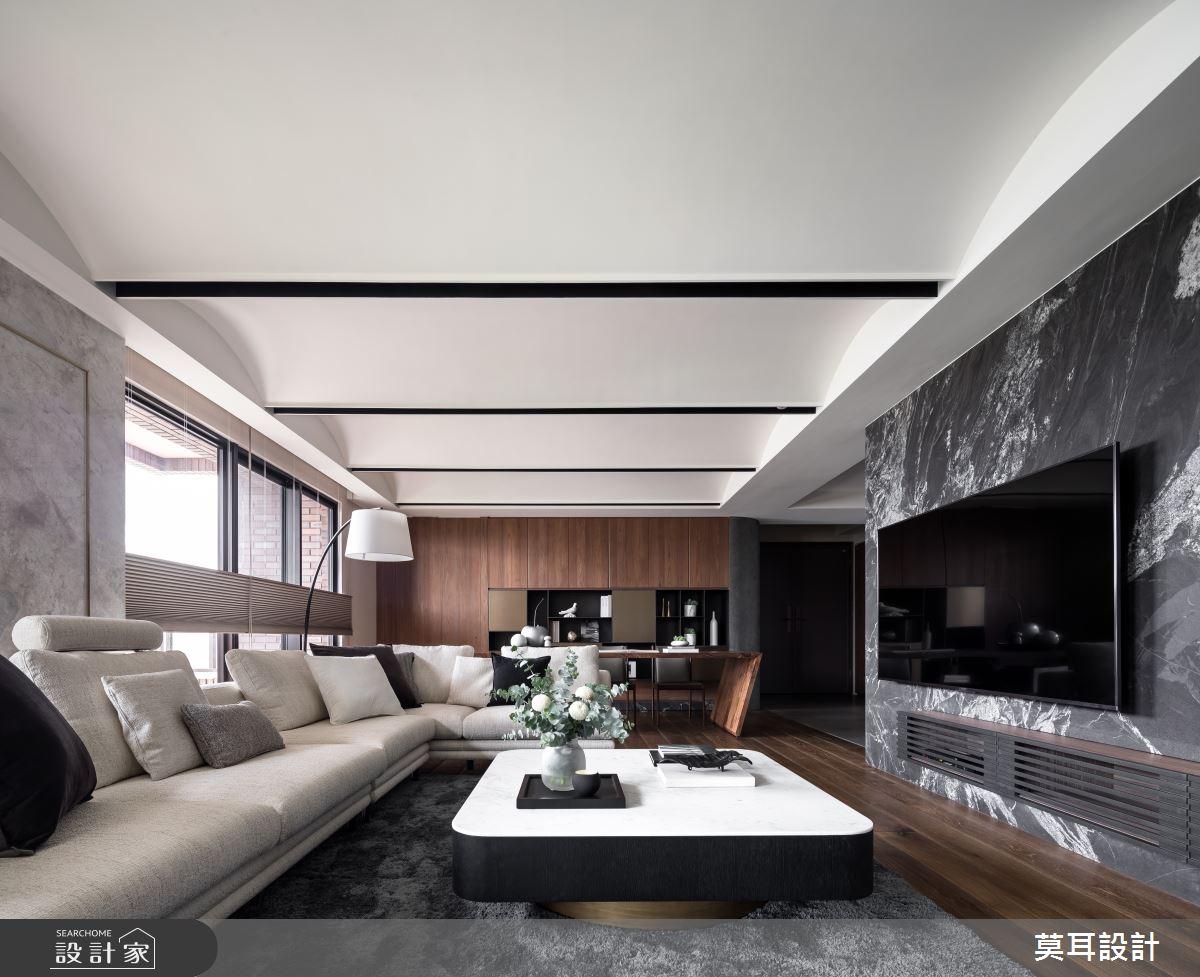 60坪新成屋(5年以下)_現代風客廳案例圖片_莫耳設計_莫耳_08之7