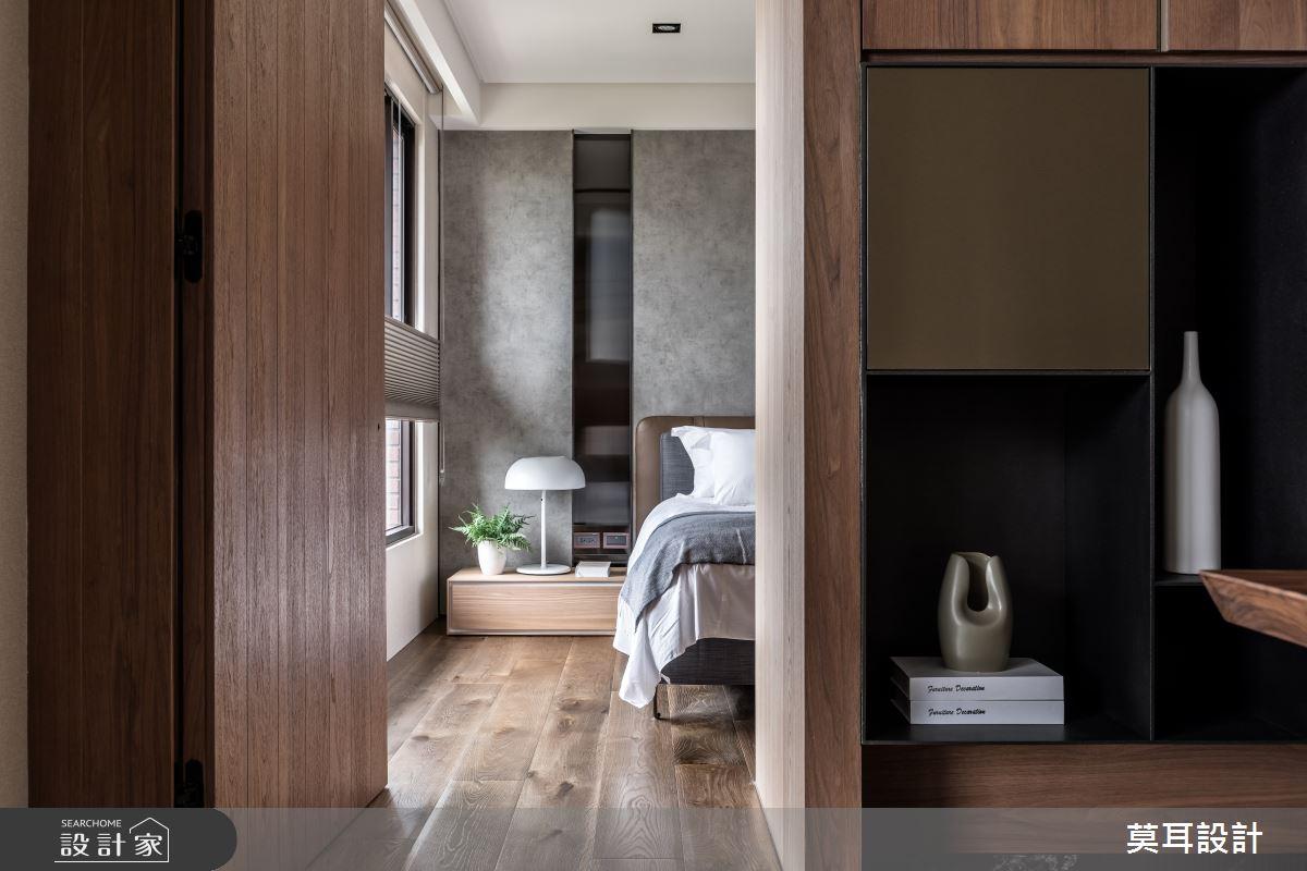 60坪新成屋(5年以下)_現代風臥室案例圖片_莫耳設計_莫耳_08之16