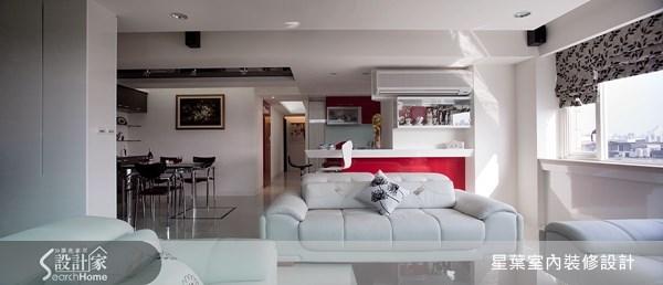 57坪_現代風客廳廚房吧檯案例圖片_星葉室內裝修設計_星葉_03之2