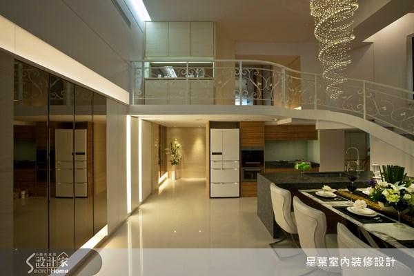50坪_新古典餐廳樓梯案例圖片_星葉室內裝修設計_星葉_04之1