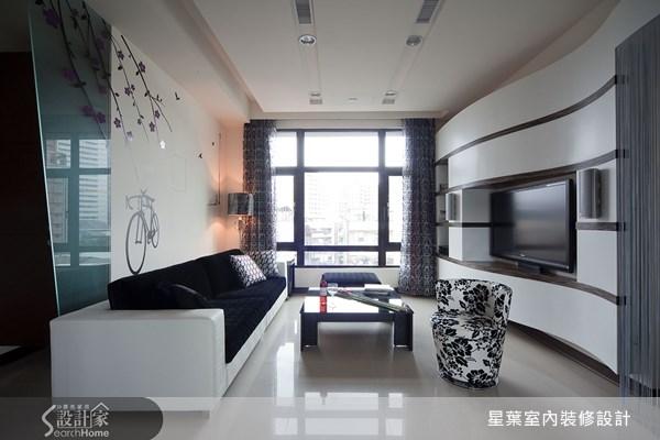 35坪_現代風客廳案例圖片_星葉室內裝修設計_星葉_07之1