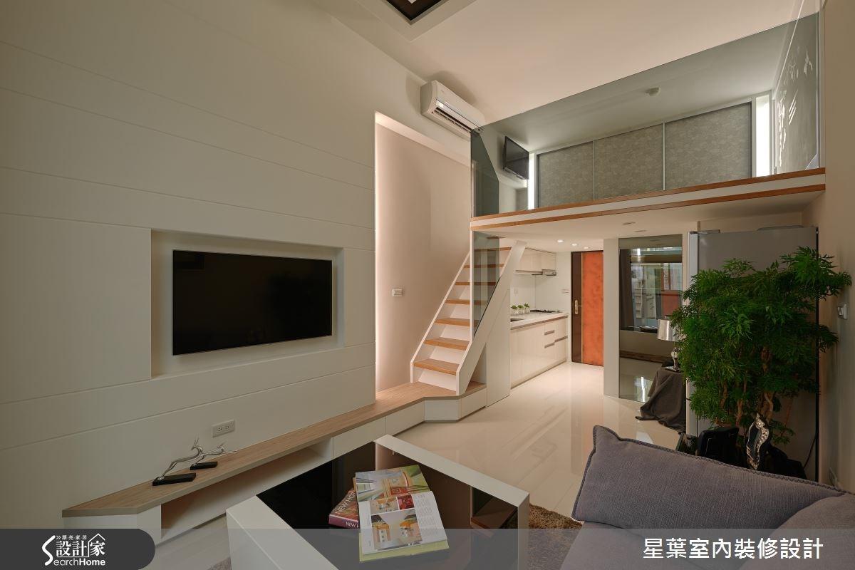 7坪中古屋(5~15年)_現代風案例圖片_星葉室內裝修設計_星葉_10之3