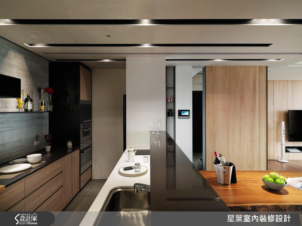 50坪新成屋(5年以下)_混搭風案例圖片_星葉室內裝修設計_星葉_15之8