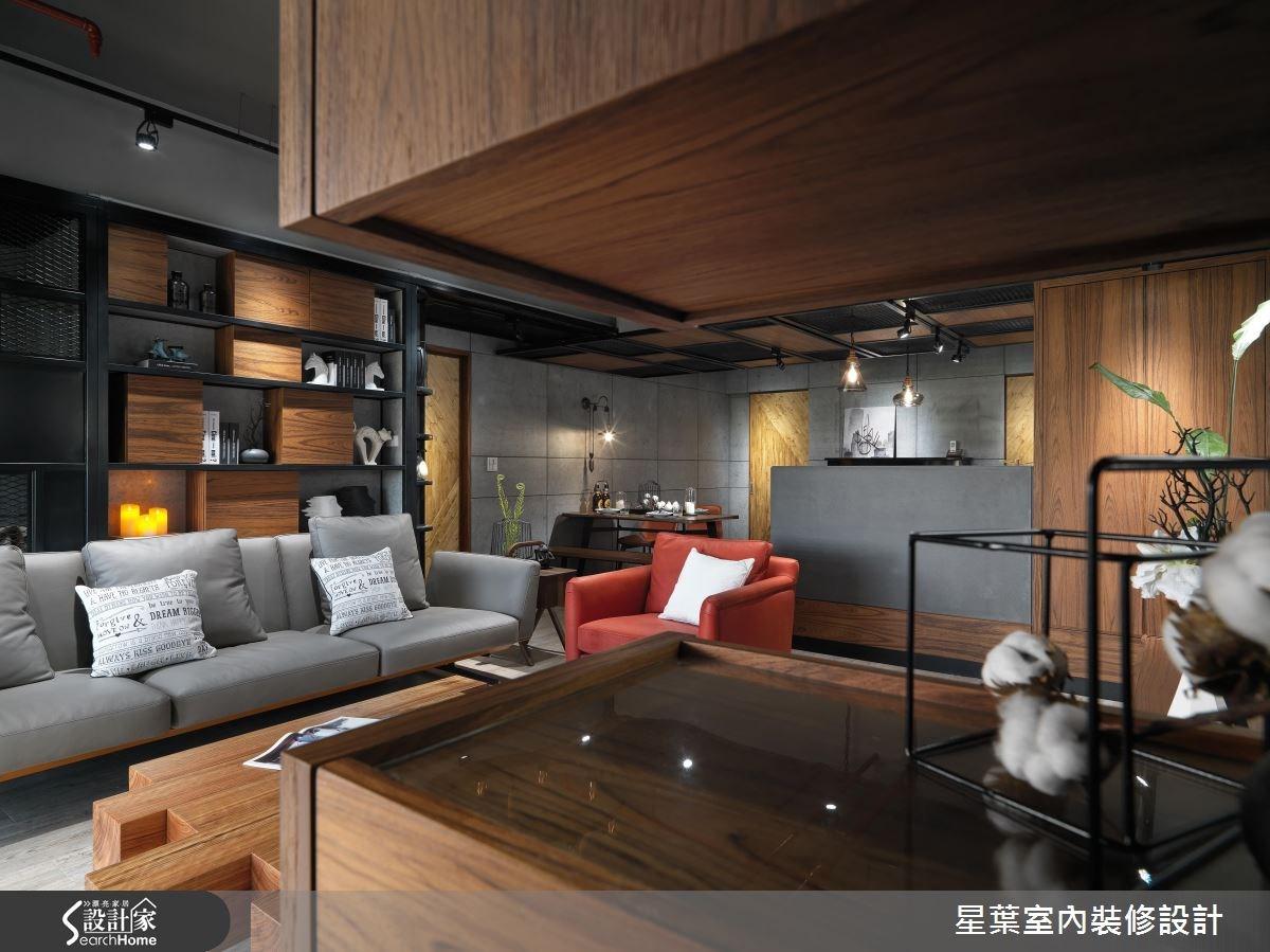 45坪新成屋(5年以下)_工業風案例圖片_星葉室內裝修設計_星葉_16之1