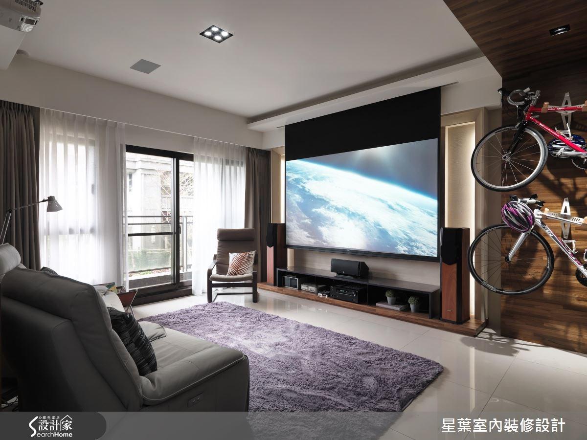 30坪新成屋(5年以下)_現代風客廳案例圖片_星葉室內裝修設計_星葉_19之1