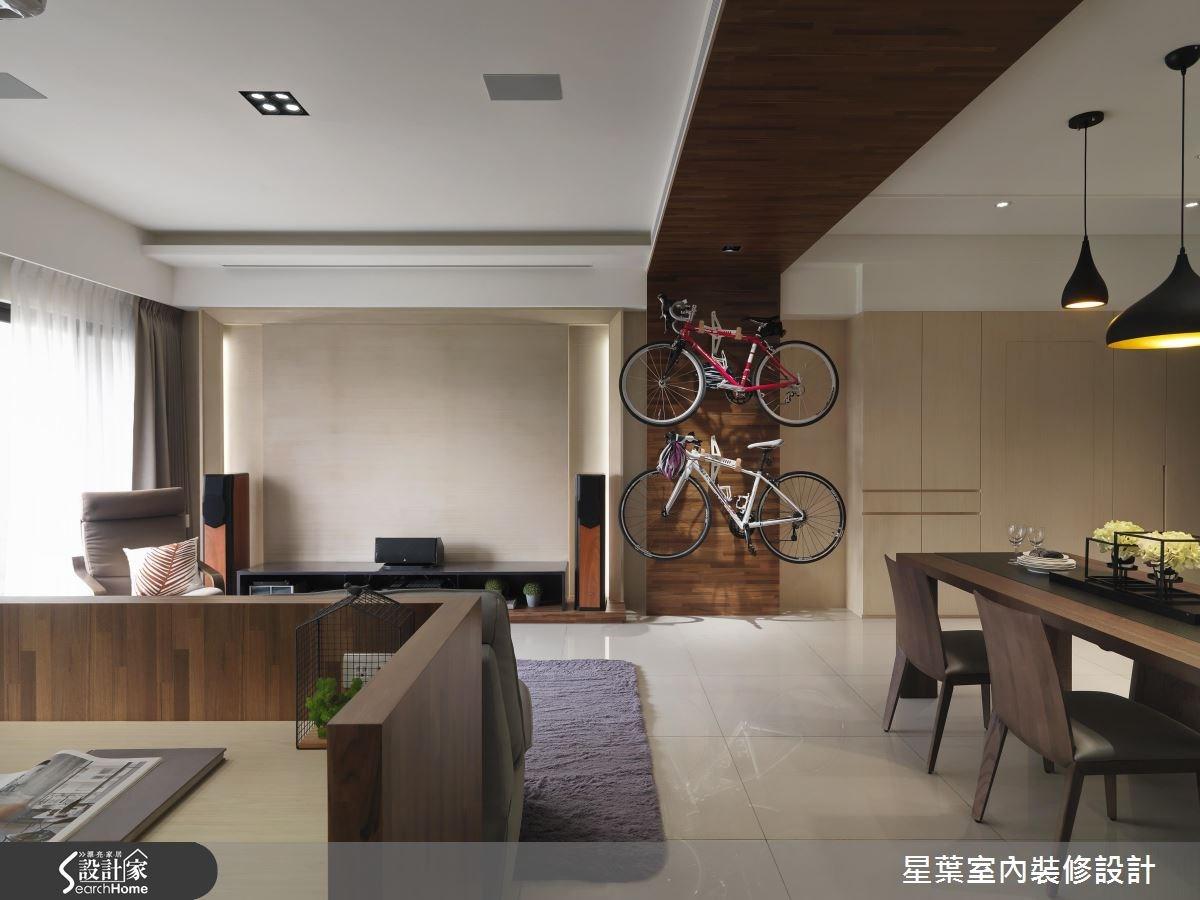 30坪新成屋(5年以下)_現代風客廳案例圖片_星葉室內裝修設計_星葉_19之3