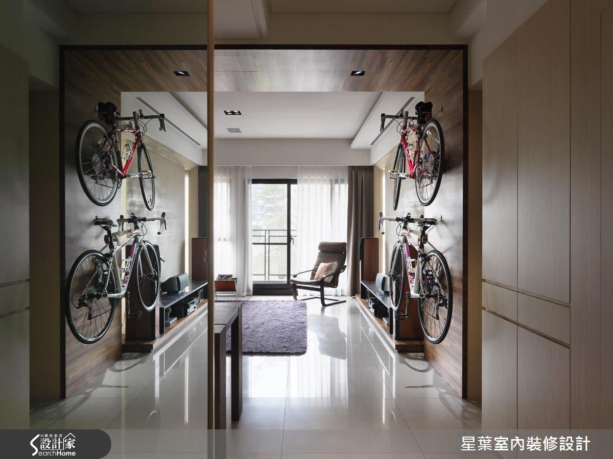 30坪新成屋(5年以下)_現代風客廳案例圖片_星葉室內裝修設計_星葉_19之4
